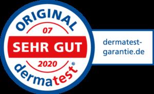 DERMATEST_Siegel_DermatestGarantie_202007_DE