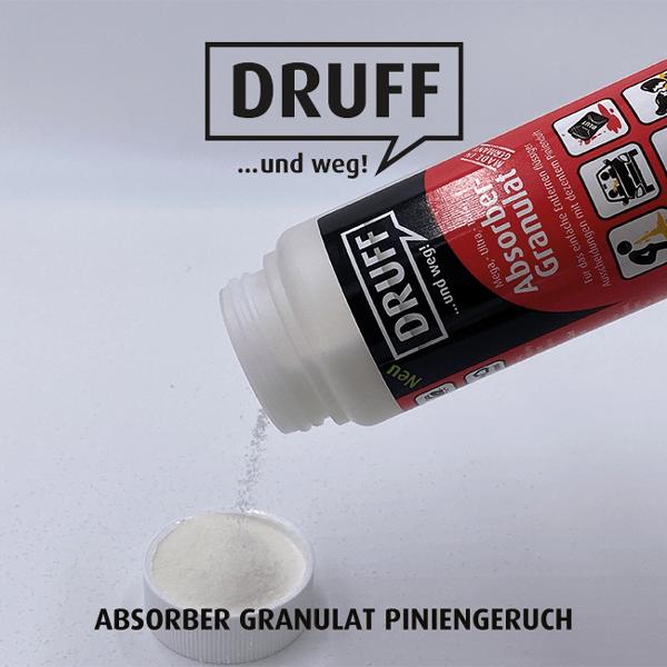 DRUFF Absorber-Granulat Piniengeruch 400ml
