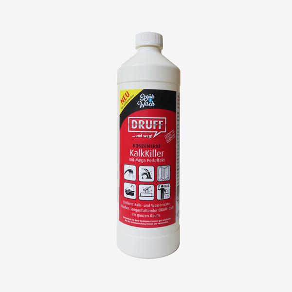 Sprüh&Wisch KalkKiller Konzentrat Nachfüllflasche 1L = (bis zu 10L)