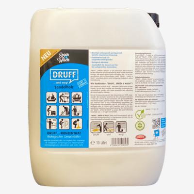 Sprüh&Wisch Konzentrat Sandelholz 10L = (bis zu 100L)
