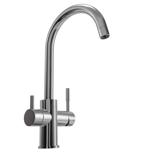 4-Wege-Wasserhahn Chrom MICHEL PLUS NEU