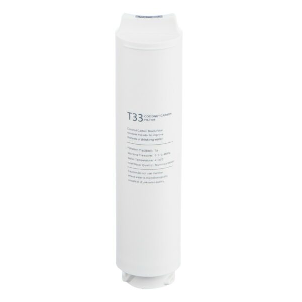 T33 Carbonblockfilter Kokosnussschalenextrakt - Wasser Michel