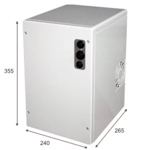SPRUDELUX POWER SODA Untertisch-Tafelwassersystem