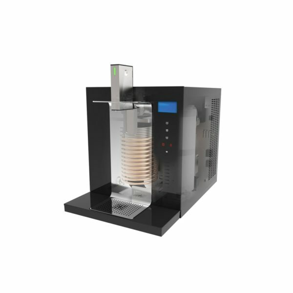 Trinkwasseranlage stilles, gekühltes, Sprudel- und Kochwasser