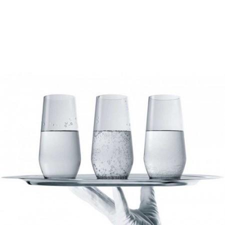 tablett - Wasser Michel Modell Silber Direct Flow Molekularfiltration
