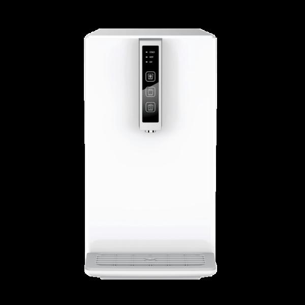 Auftisch-Tafelwasseranlage SPRUDELUX® BLACK & WHITE DIAMOND EDITION inklusive Filtereinheit