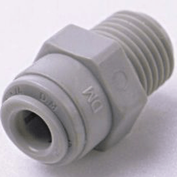 Einschraubverbinder BSP(PT) Gewinde 1/4tube x 3/8BSPT