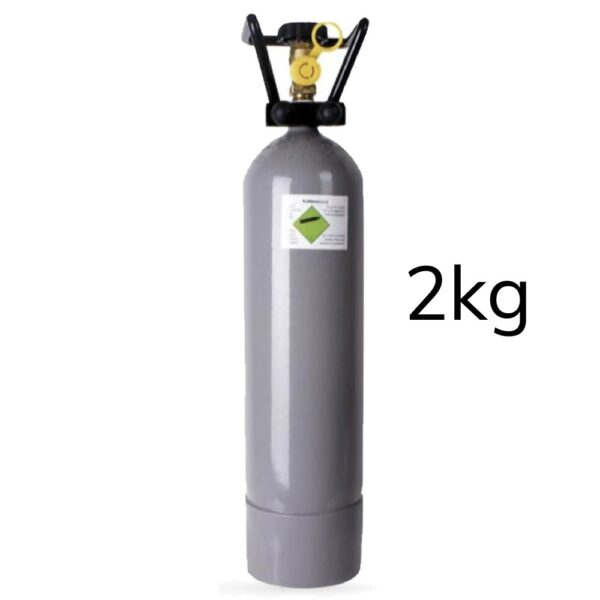 Eigentums CO2 Zylinder / Flaschen befüllt 2 kg