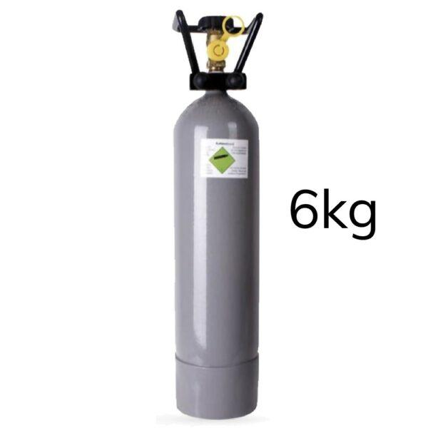 Eigentums CO2 Zylinder/ Flaschen befüllt,  6kg