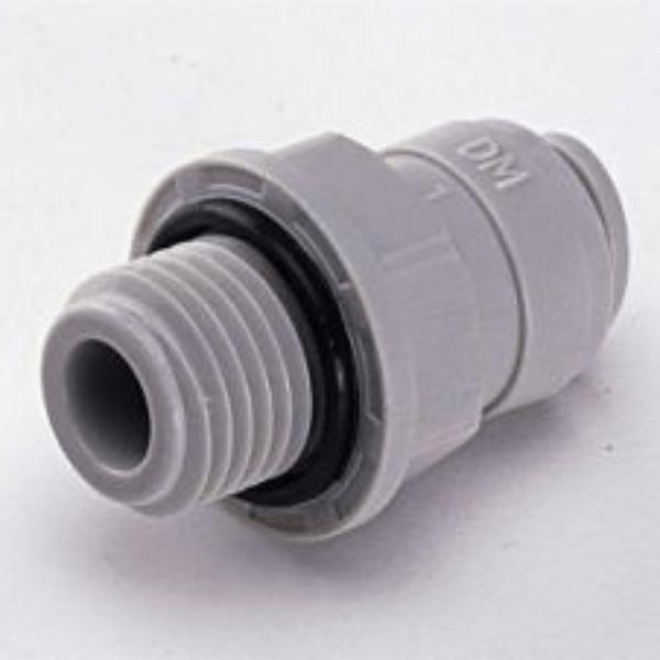 Einschraubverbinder BSP(P) Gewinde  1/4tube x 1/4BSP(P)