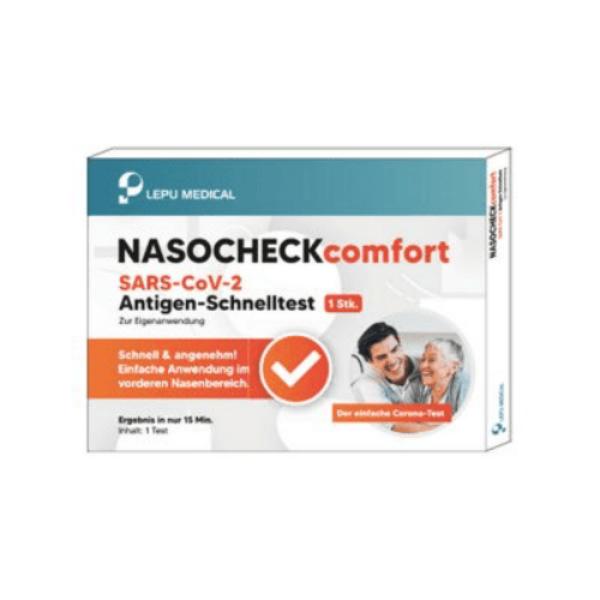 LEPU Nasocheck Comfort SARS-CoV-2 Antigen-Schnelltest Laien
