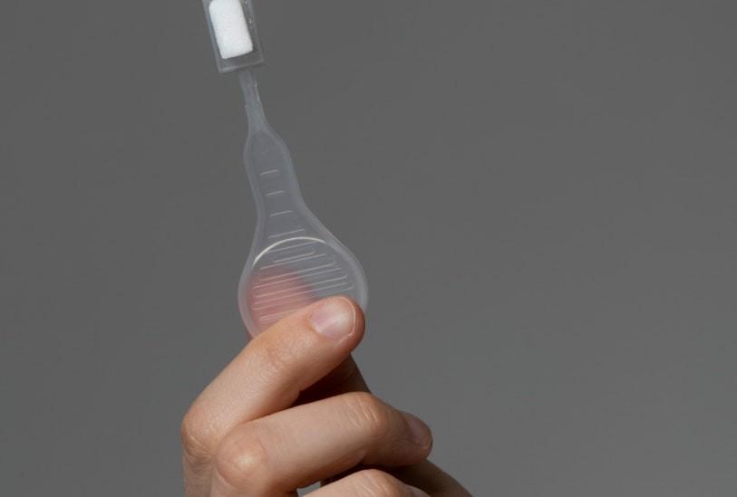 """slider 04 - V-CHEK """"Lollipop"""" Test 2019-nCoV Ag Saliva Rapid Test Card - Einzel"""