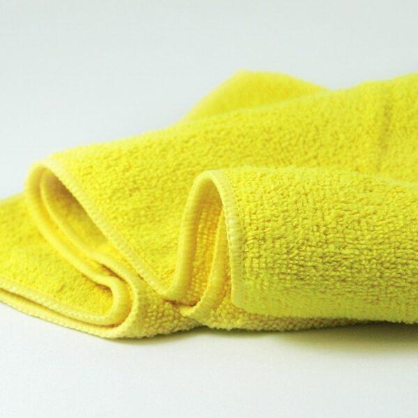 Microfasertuch Eco Basic gelb