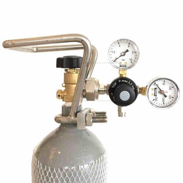 CO2 Druckminderer für Mehrwegflaschen
