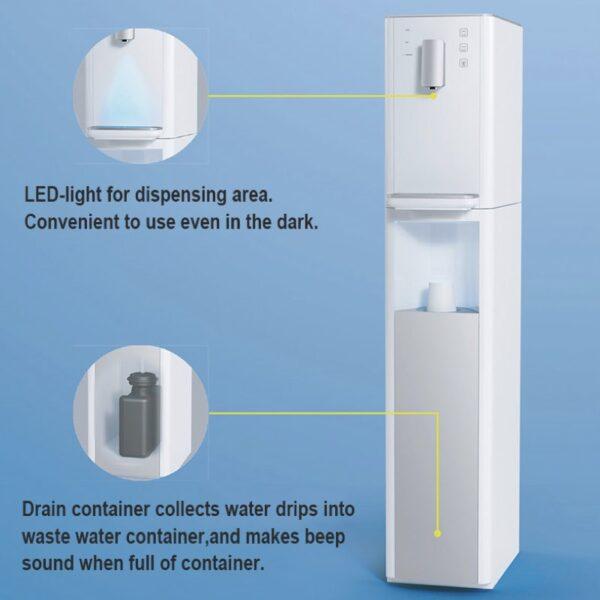 Auftisch-Tafelwasseranlage SPRUDELUX® RED DIAMOND 2.0 UV inklusive Filtereinheit