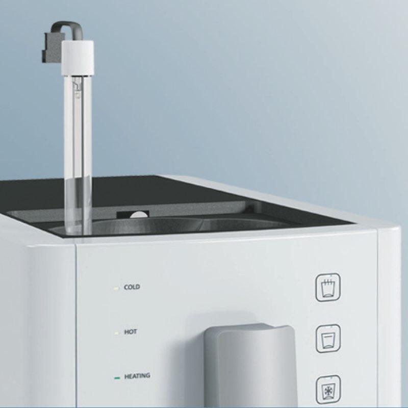 M104 Sprudelux 2.0.004 - Auftisch-Tafelwasseranlage SPRUDELUX® RED DIAMOND 2.0 UV inklusive Filtereinheit