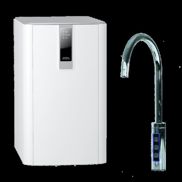 SPRUDELUX® BLACK & WHITE DIAMOND SERIE  Untertisch-Tafelwasseranlage