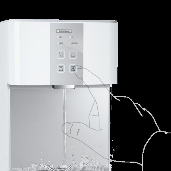 SPRUDELUX® BLUE DIAMOND 3.0 UV Auftisch-Tafelwasseranlage