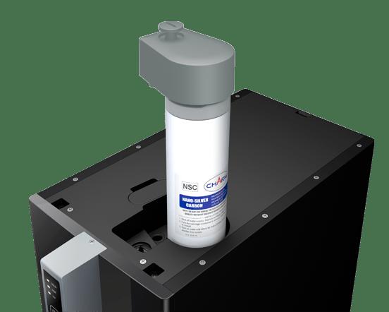 M105Filter - SPRUDELUX® BLACK & WHITE DIAMOND HOT EDITION Auftisch-Tafelwasseranlage