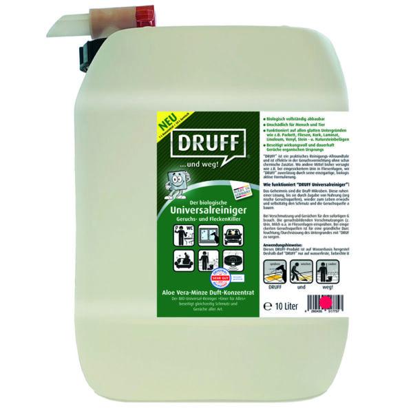 Universalreiniger Konzentrat Aloe Vera Minze 10l Geruchsentferner