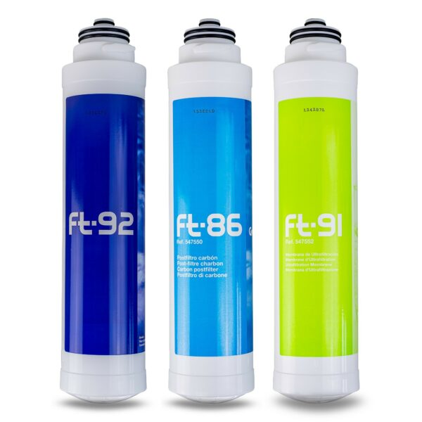 FT-LINE 3 Aktivkohle Wasserfilter System mit UF - Filtration