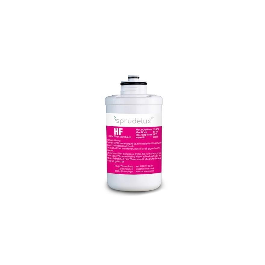 BlackWhiteDiamondFilter klein HF - HF HOLLOW FIBER MEMBRANE FILTER 4 Ersatzfilter für Sprudelux® Diamond Tafelwasseranlagen