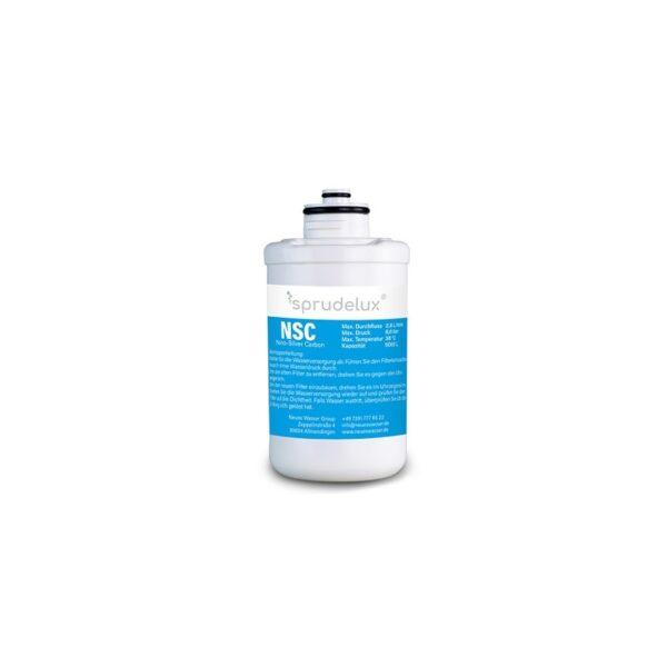 NSC NANO SILVER CARBON FILTER 4 Ersatzfilter für Sprudelux® Diamond Tafelwasseranlagen