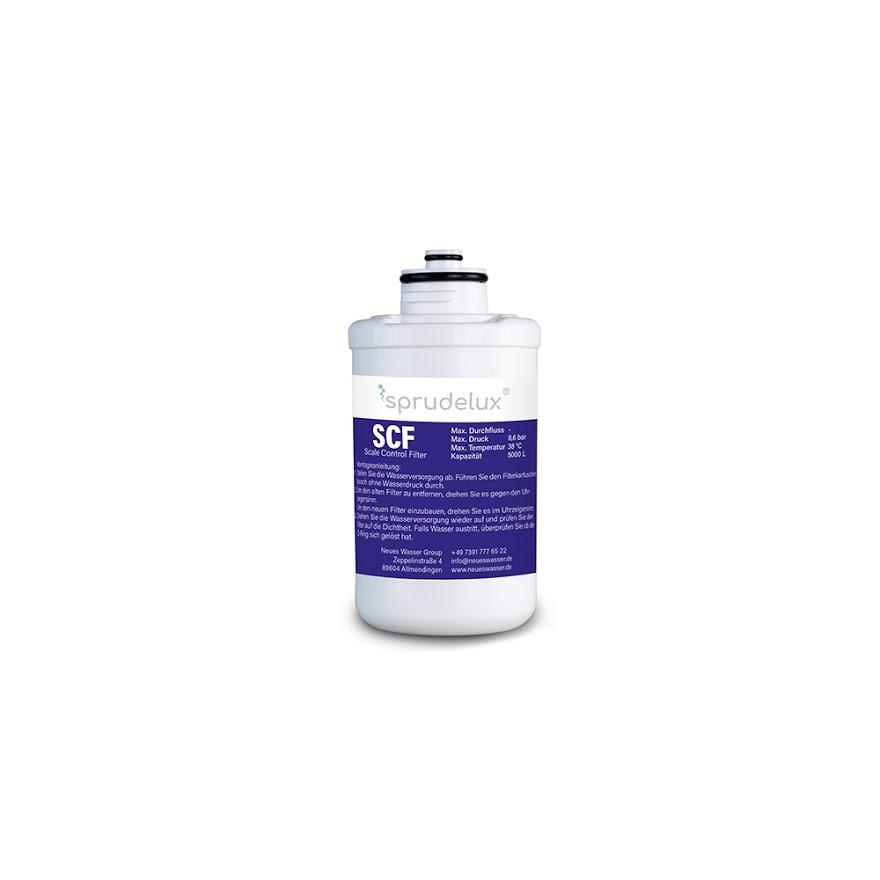 BlackWhiteDiamondFilter klein SCF - SCF SCALE CONTROL FILTER 4 Ersatzfilter für Sprudelux® Diamond Tafelwasseranlagen