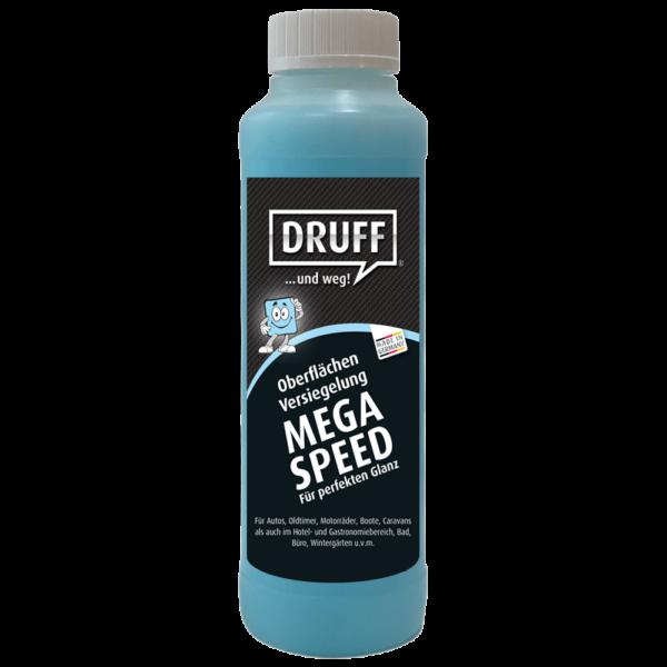 Druff Black-Line MEGA SPEED Oberflächen-Versiegelung 250ml inkl. Sprühkopf und Poliertuch