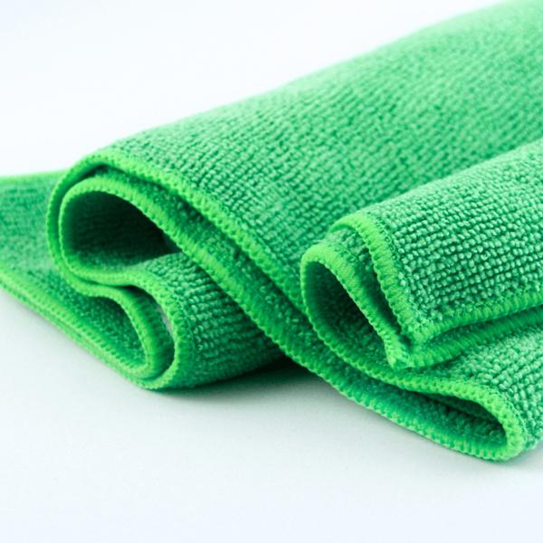 Microfasertuch Eco Basic grün